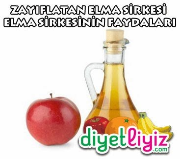Elma Sirkesi Zayıflatır Mı ?