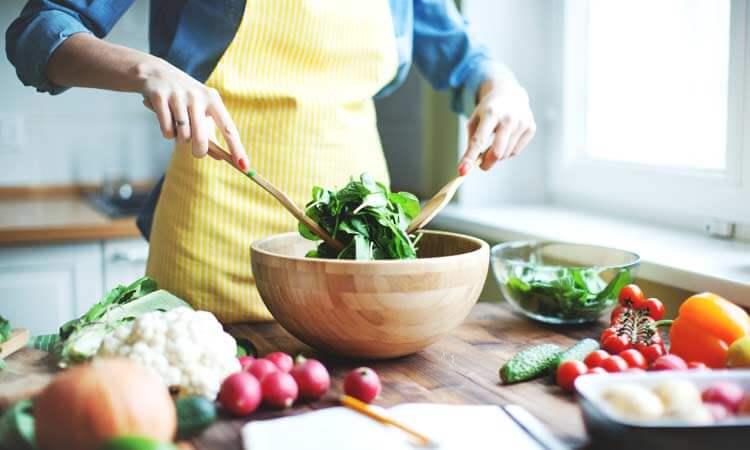 Salata Yaz Diyeti'nin Vazgeçilmezlerindendir !